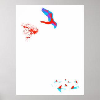 swan dive poster