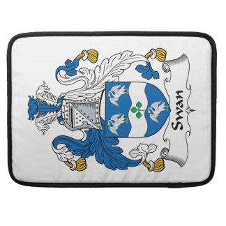 Swan Family Crest Sleeves For MacBooks