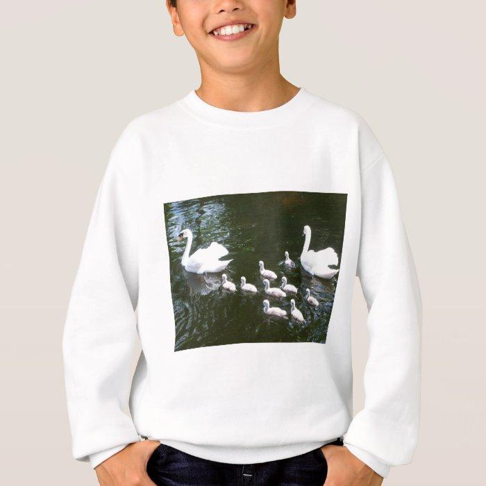 Swan family sweatshirt