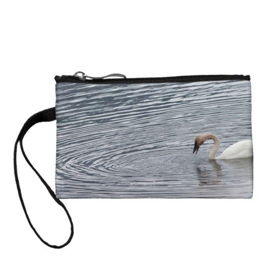 Swan Feeding Coin Wallet