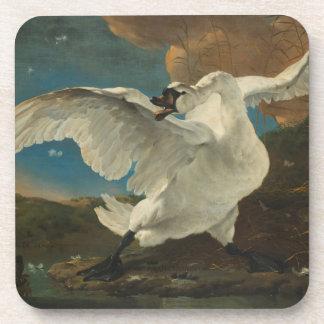 Swan fine art Asselijn Beverage Coasters