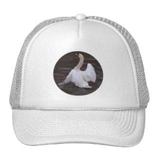 Swan Flapping Wings Trucker Hat