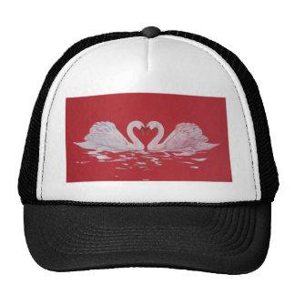 Swan Heart Trucker Hat