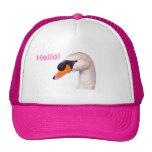 Swan Hello! Gorra