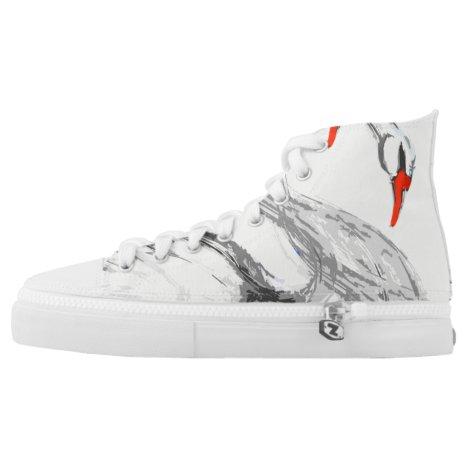 swan High-Top sneakers