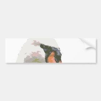 Swan II Bumper Sticker