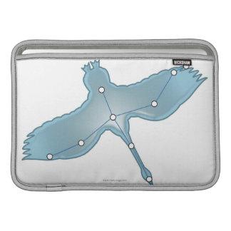 Swan in Flight MacBook Air Sleeve