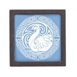 Swan in Snow Premium Trinket Boxes