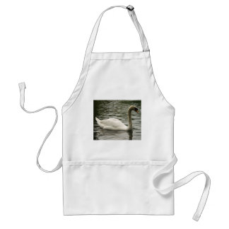 Swan in the Lake Adult Apron