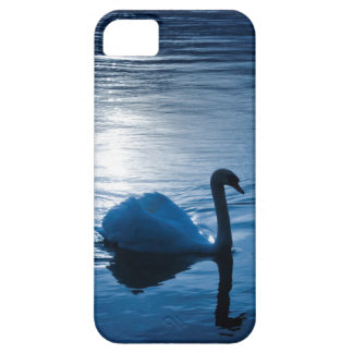 Swan into blue more water animal photography phone iPhone SE/5/5s case