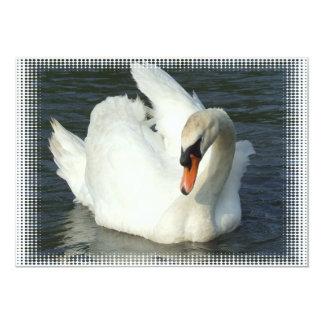 Swan Invitation