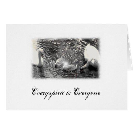 Swan Items Greeting Card