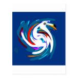 swan.jpg tarjeta postal