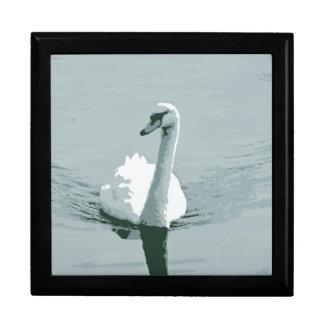 Swan Keepsake Box