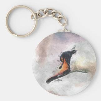 Swan Keychain