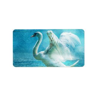 Swan Custom Address Labels