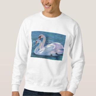 Swan Lake aceo Adult Sweatshirt