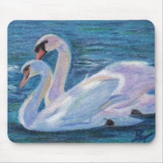 Swan Lake aceo Mousepad
