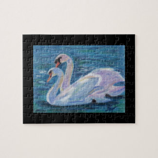 Swan Lake aceo Puzzle