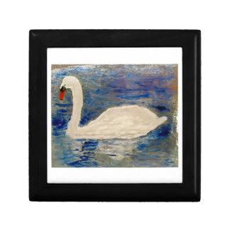 Swan Lake Art Keepsake Box