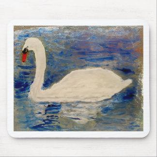 Swan Lake Art Mouse Pad