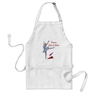 'Swan Lake Ballerina' custom Adult Apron