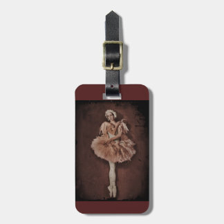 Swan Lake Ballerina Luggage Tag