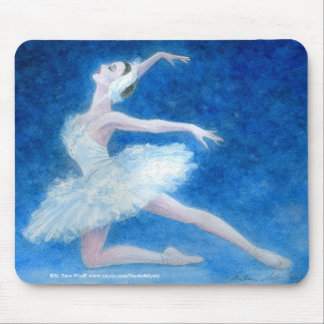 Swan Lake Ballet Mousepad