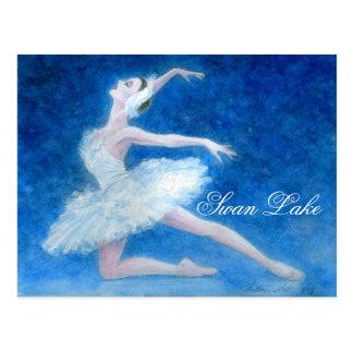 Swan Lake Ballet Postcard