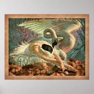 Swan Lake Ballet Poster