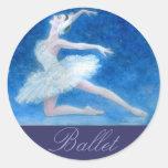 Swan Lake Ballet Sticker