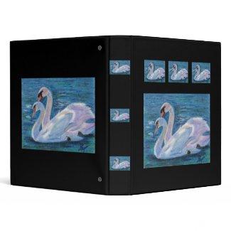 Swan Lake Binder binder