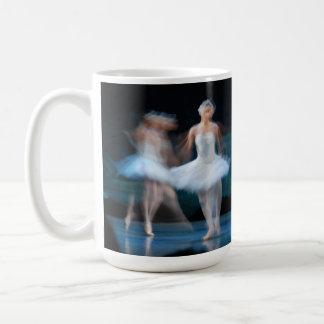 Swan Lake bone china mug