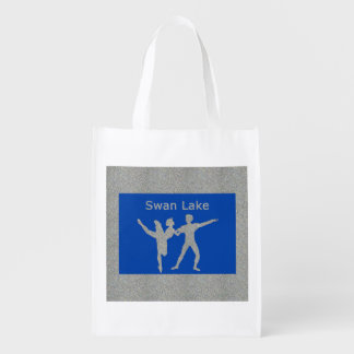 Swan Lake Grocery Bag