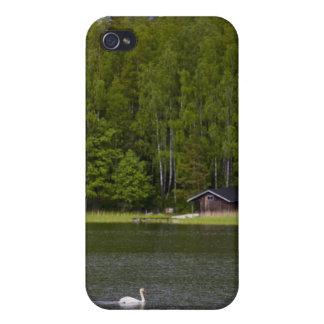 swan lake in Finland iPhone 4/4S Case