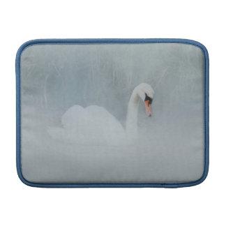 SWAN LAKE MISTY BLUE MACBOOK AIR SLEEVE FOR MacBook AIR