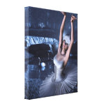 Swan Lake - Odette and Swans Canvas Prints