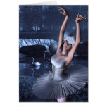Swan Lake - Odette and Swans Greeting Card