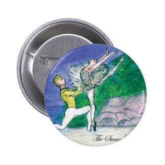 Swan Lake Odette Pinback Button