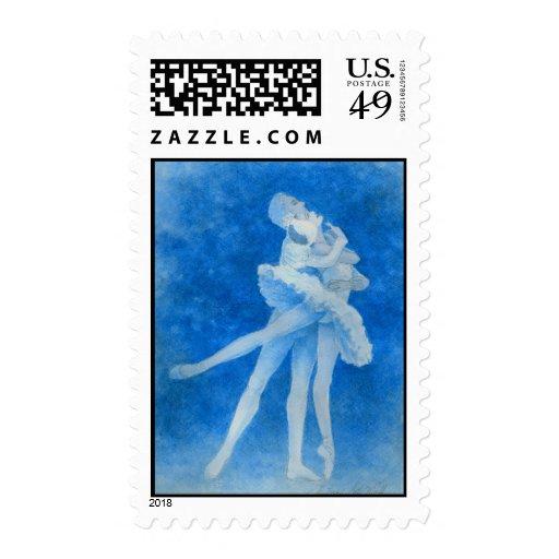 Swan Lake Pas de Deux Postage Stamp