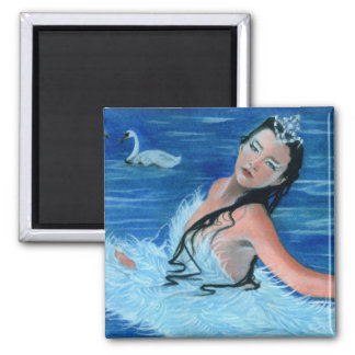 Swan Lake Princess Magnet