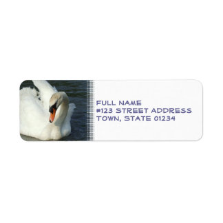 Swan Lake Return Address Label