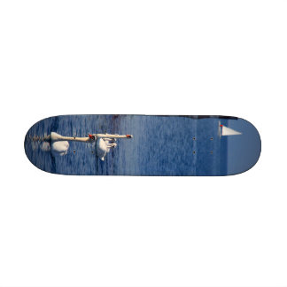 Swan Lake Custom Skate Board