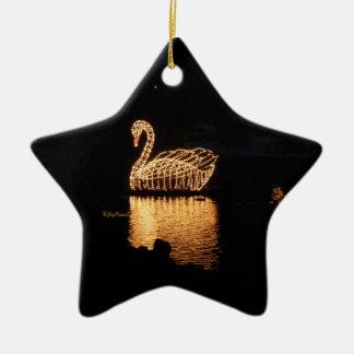 Swan Lights Ornament