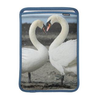 """Swan Love 13"""" MacBook Sleeve"""