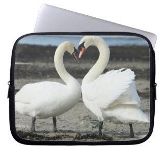 Swan Love  Electronics Bag Computer Sleeves