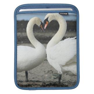 Swan Love iPad Sleeve