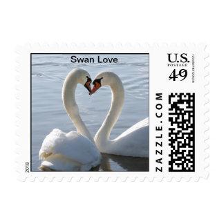 Swan Love Stamp