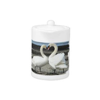 Swan Love Teapot