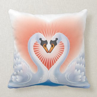 Swan Lovers Pillows